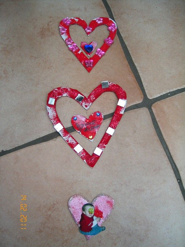 Bricolage pour la st valentin - Idee activite saint valentin ...