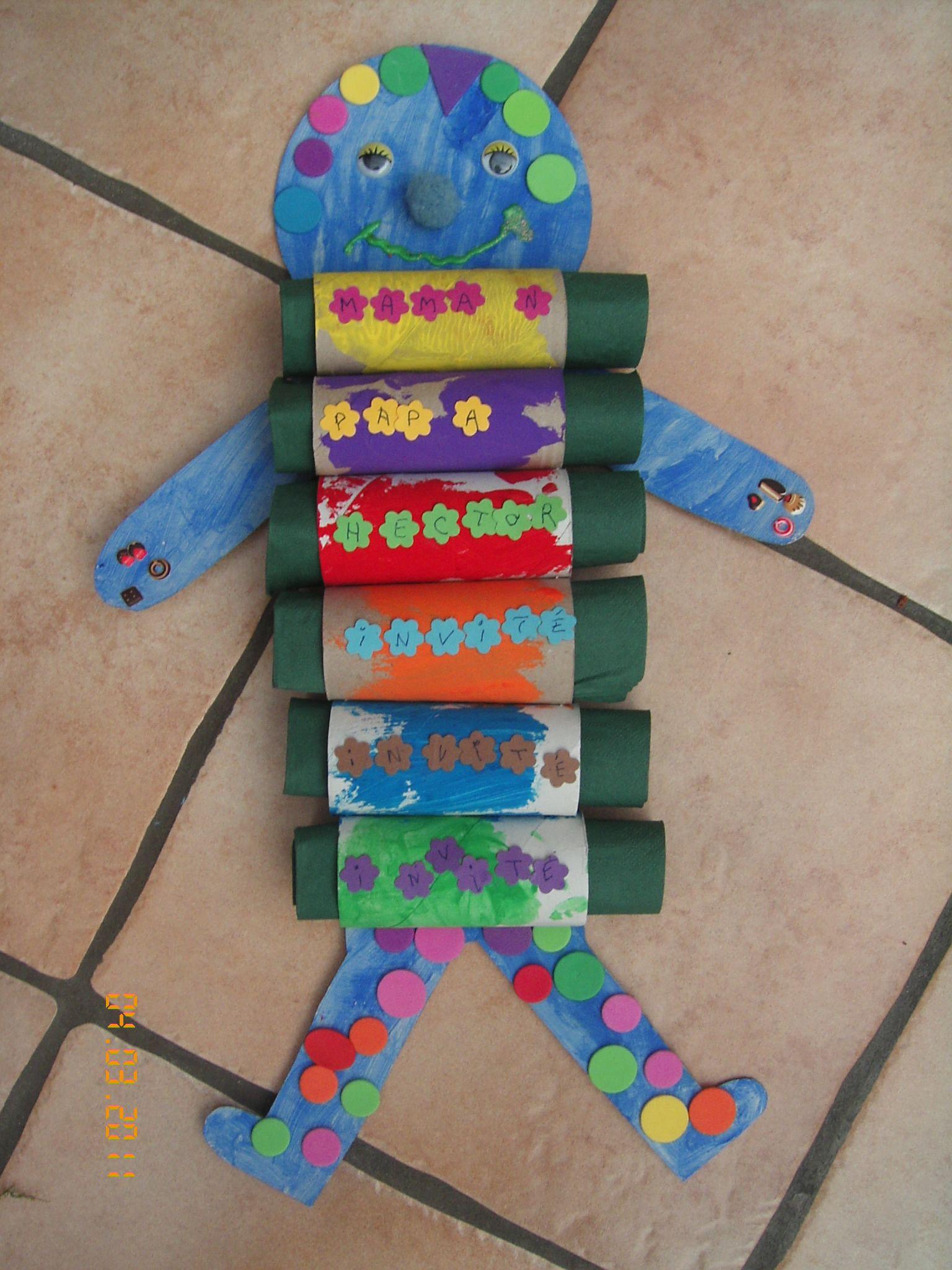 Bricolage avec objets recycles - Recyclage activite manuelle ...